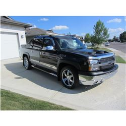 2005 CHEVROLET AVALANCHE CUSTOM  STREET LEGAL EXTREME AVALANCHE