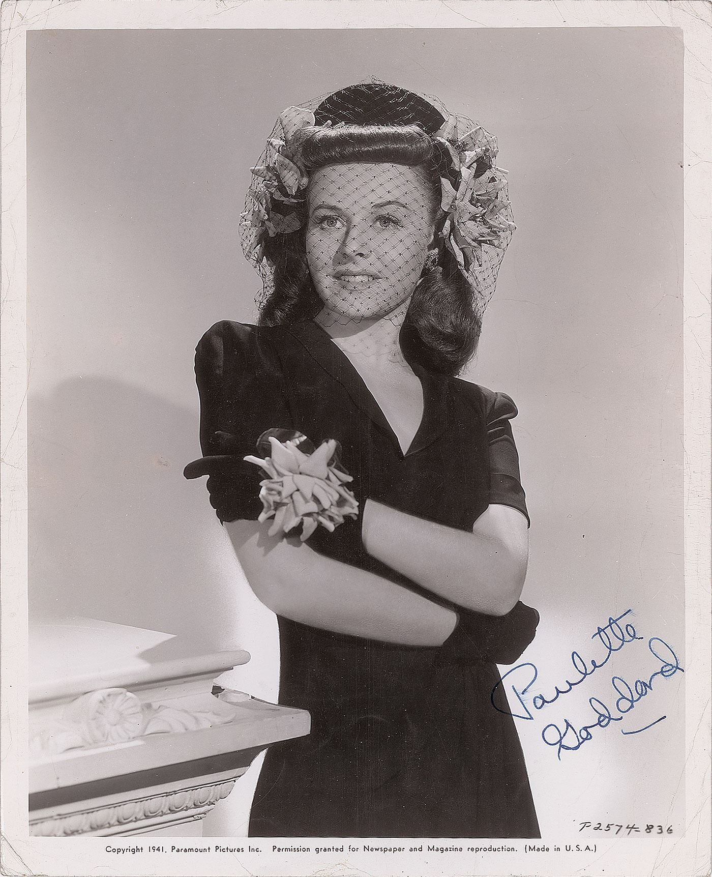 Paulette Goddard Paulette Goddard new photo