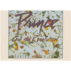 Prince Purple Rain Tour 'Thank You' Card