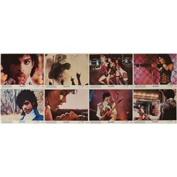 Prince Purple Rain Set of (8) Mini Lobby Cards and Promo Materials