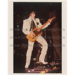 Prince 1984 Pre-Purple Rain Tour Original Vintage Color Photograph by Nancy Bundt