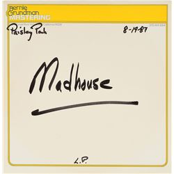 Madhouse 1987 Acetate Test Pressing