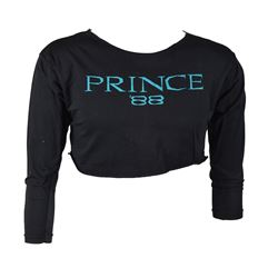 Prince's Personally-Worn Lovesexy Cropped T-Shirt
