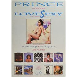 Prince Lovesexy Large Promo Poster
