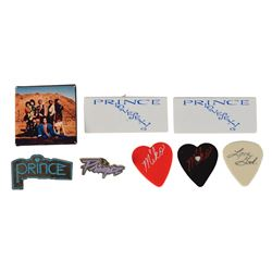 Prince Collection of Guitar Picks and Pins