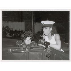 Prince and Cat Glover 1988 Lovesexy-Era Original Vintage Photograph