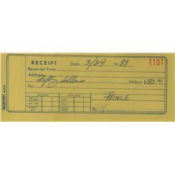PRN Productions Receipt Book