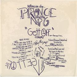 Prince and The New Power Generation 'Gett Off' Limited Edition Album
