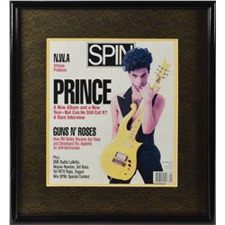 Prince's Personally-Owned Spin Magazine Cover