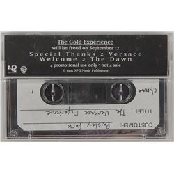 Prince 'The Versace Experience (Prelude 2 Gold)' Test Pressing Promo Cassette
