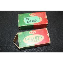 2 Boxes of CIL 9mm Para-Military Ammo - 90 Rnds