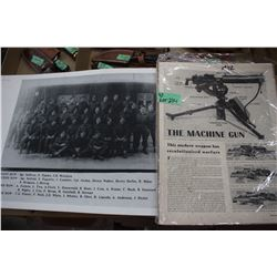 Pages from Life Magazine 1942 War Stories & Advertising & Military Photo