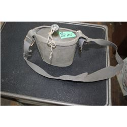 Military Canteen & Web Carrying Case