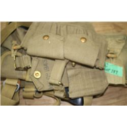 Military Ammo Carriers and Holster