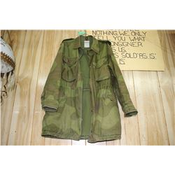 Military Cammo Jacket - Size 44