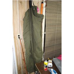 "Military Bib Overalls - Fits 39 to 44"" Waist"
