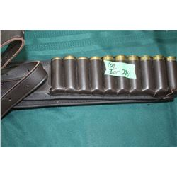 Shotgun Belt w/24 - 12 ga. Shot Gun Shells