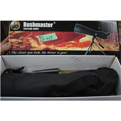 New Bushnell Spotting Scope - 20x60x60 & Tripod