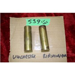 Winchester No. 12 & Burmingham No. 12 Collector Shells