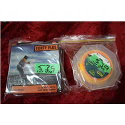 2 Paks of Fly Line