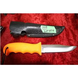 Cutco Knife (USA) and Sheath