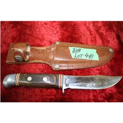 Sharp Knife (Taiwan) & Sheath