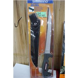 Shimano Filleting Knife & Sheath