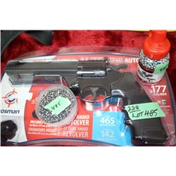 Pellet Gun - 177 Pellet or BB & Jar of 1500 Steel BBs