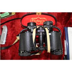 8 x 30 Binoculars with Case