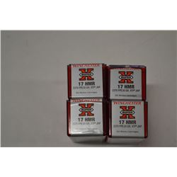 200 ROUNDS WINCHESTER SUPER X 17 HMR 20 GRAIN