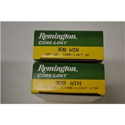 40 ROUNDS REMINGTON 308 WIN 180 GRAIN