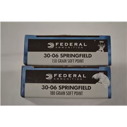 40 ROUNDS  FEDERAL SPRINGFIELD 150 GRAIN SOFT POINT