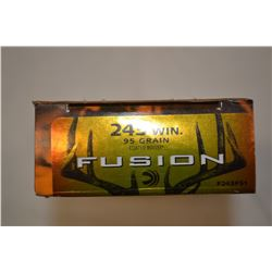 20 ROUNDS FUSION 243 WIN 95 GRAIN