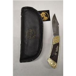 FRANKLIN MINT COLLECTOR COLT 1849 POCKET PISTOL KNIFE
