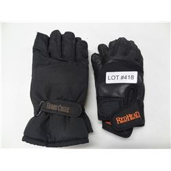 2 PAIR WINTER GLOVES