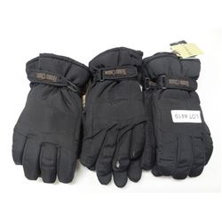 3 WINTER GLOVES