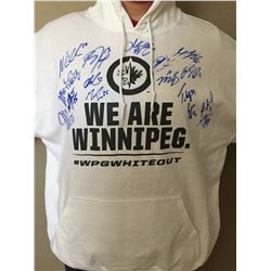 WINNIPEG JETS WHITE OUT HOODY