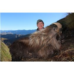 5 Day New Zealand Tahr Hunt with  Fraser Safaris Woodbury  Safari Lodge