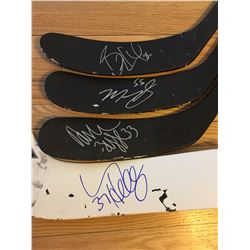 WINNIPEG JETS AUTHOGRAPHED GAME STICKS