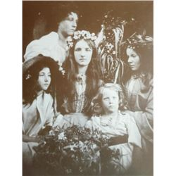 Victorian Ladies Sepia Photo Print