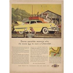1954 Chevrolet Bel Air Sedan Advertisement