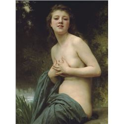 6 X 8 Art Bouguereau Spring Breeze Ceramic Mural Backsplash Bath Tile #1461