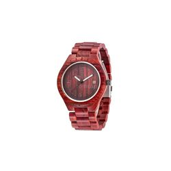 Casual Men's Sandal Wooden Analog Quartz Wristwatch Luminous Watch