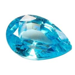 15.92ct Pear Shaped Blue BIANCO Diamond