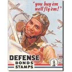 Defense Bond Stamps - Fly'em