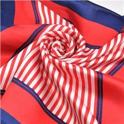 Ladies Patriotic Colors Silk Yachting Scarf