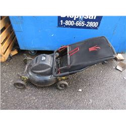 Jobmate Electric Lawnmower with Catcher