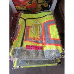 12 New Safety Vests - Size 2XL