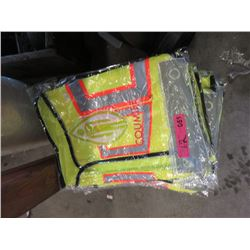 12 Safety Vests (Size 2XL)