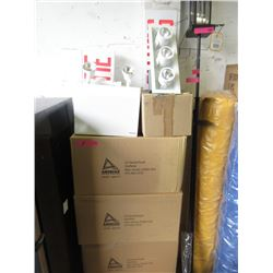 8 Boxes of New Emergency & Recessed Light Fixtures